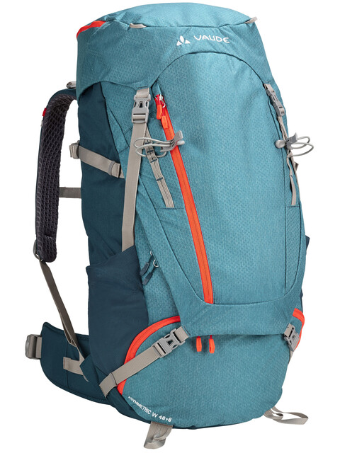 VAUDE Asymmetric 48+8 Backpack Women blue sapphire